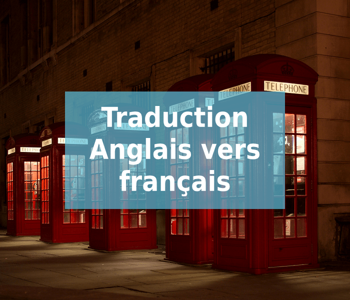 traduction anglais français